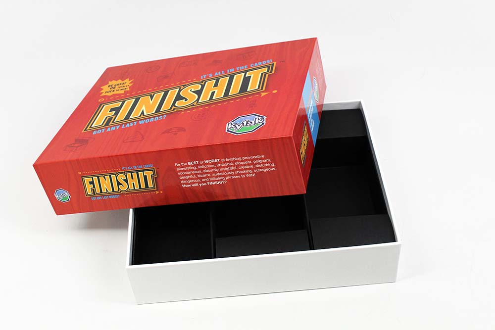 Board Game Industry Standards Two-Piece Box
