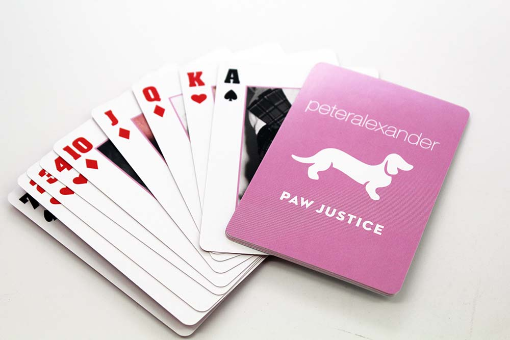 Poker Style Playing Card