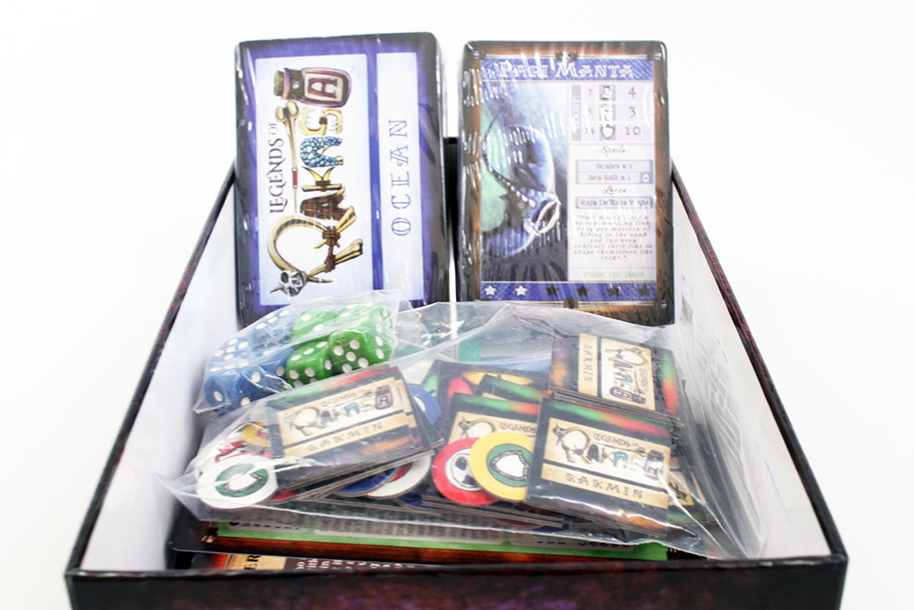 Shrink Wrapped Cards Inside Game Box