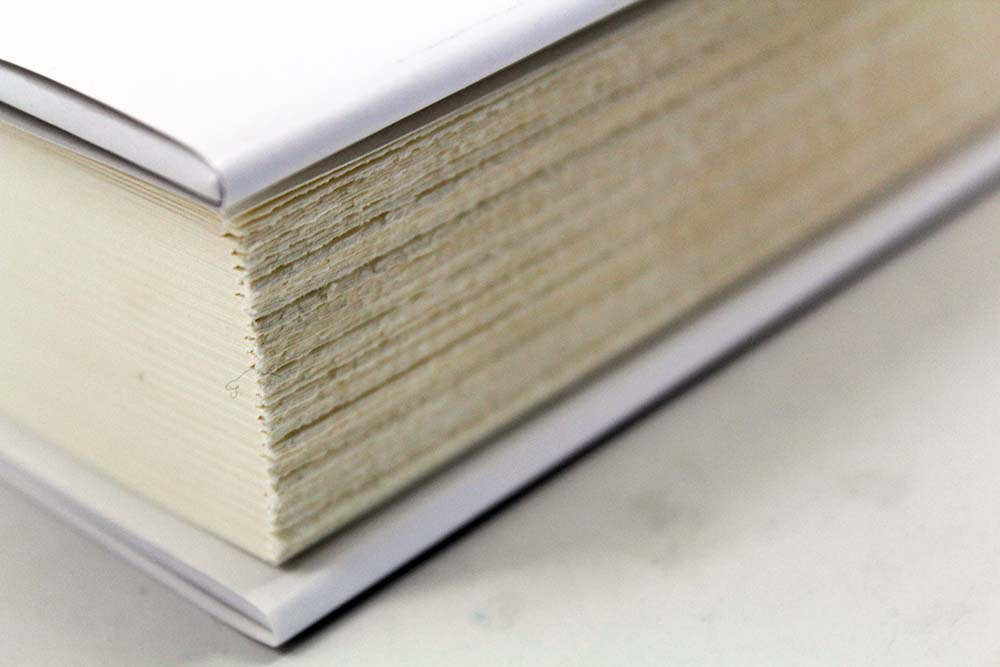 Deckled Paper Edges Book