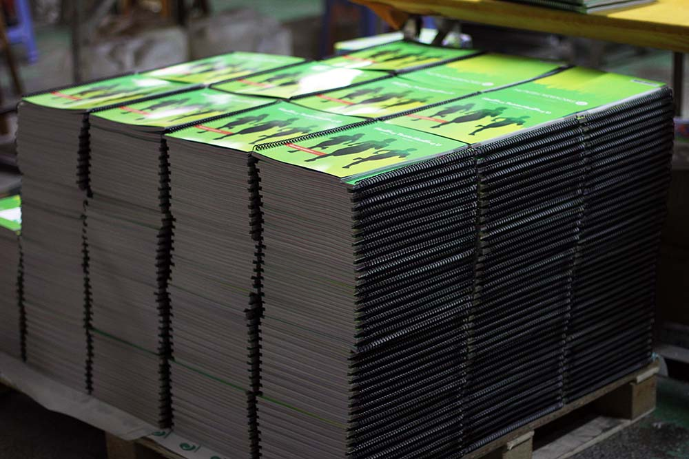 Books Drying Offset Printing Process
